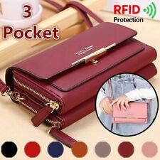 Women Ladies Shoulder Bag Cross Body Leather Tote Satchel Handbag Purse RFID New