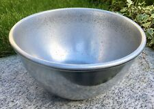 More details for vintage lune brand morecambe aluminium mixing bowl 21.5 cm