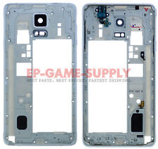 Housing Bezel Frame Assembly For Samsung Galaxy Note 4 N910A N910T N910W8 White