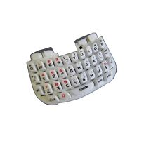 Keypad Keyboard Click Qwerty Buttons white For Blackberry Curve 8520