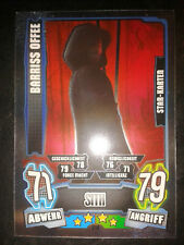 Force Attax Star Wars Serie 4 Star-Karte 214 Barriss Offee (Sith)  Trading Card