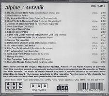 "HANK HALLER   ""Alpine/Avsenik""   NEW SEALED GERMAN POLKA CD"