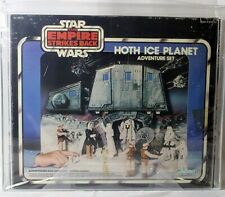Vintage Star Wars Boxed ESB Playset Hoth Ice Planet AFA 70 #14663062