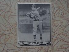 """1940 PLAYBALL """"MAC"""" MCQUINN ST. LOUIS BROWNS"""
