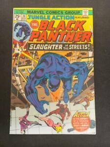 JUNGLE ACTION, BLACK PANTHER #20, VF/NM Shape, Marvel Comics (MW)