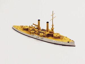 Navis 316 US Battleship Iowa BB-4 White/Gold 1/1250 Scale Model Ship