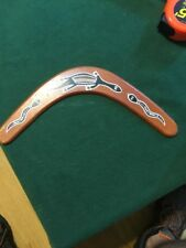 "Vintage 13"" Boomerang Australian For Display Or Use Hand Made In Australia"