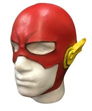 UK Rosso Flash Marvel Latex Adulti bambini costume travestimento halloween