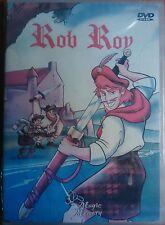 FILM DVD - ROB ROY - CARTONE ANIMATO NUOVO SIGILLATO