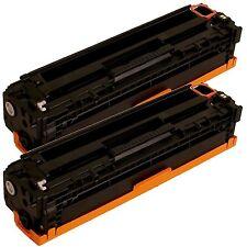 2x CB540A 125A Black Compatible Toner For LaserJet CM1312 CP1215 CP1515n CP1518