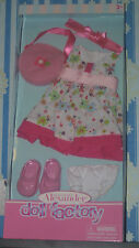 """Madame Alexander Floral Dress Outfit For 18"""" Doll NIB"""