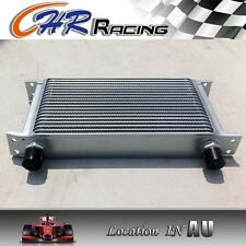 Al Transmission Engine Oil Cooler 19 row AN10 Fitting