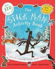 Julia Donaldson Activity Book - THE STICKMAN ACTIVITY BOOK, STICK MAN - NEW