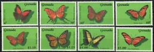 Grenada Stamp - Butterflies Stamp - NH