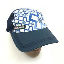 X-Games Baseball Cap Blue Hat Extreme Sports Polyester Curved Bill Mesh Back Men