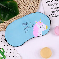 Cute Cartoon Plush Eye Mask Blindfold Patch Cover Home Travel Sleeping Eye Masks