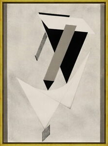 Framed El Lissitzky The First Kestner Giclee Canvas Print Paintings Poster