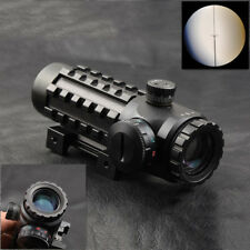 Adjustable Reticle 4x28EG Scope Sight 20mm/11mm Picatinny Rail for Rifle
