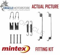 NEW MINTEX REAR BRAKE SHOES SET FITTING KIT PIN SPRINGS GENUINE QUALITY MBA794