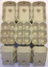 30 1/2 DOZEN NEW EGG BOXES/CARTONS SUITS POULTRY CHICKEN DUCK HEN EGGS