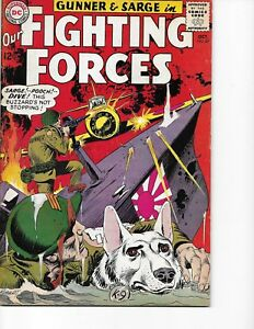 Our Fighting Forces  #87 (Gunner & Sarge  FN  6.0) Oct-1964, DC