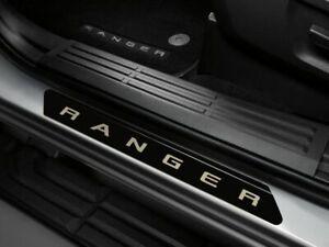 2019-2021 Ford Ranger Crew Cab Black Platinum Door Sill Plates  4 Pc.