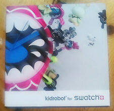 Kidrobot x SWATCH Promo Booklet Baseman TILT Kozik unsigned print DUNNY
