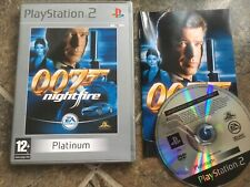 James Bond 007: Nightfire Ps2 Game! Complete! Look In The Shop