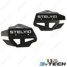 COUPLE OF THROTTLE GUARDS ALUMINIUM BLACK GUZZI 1200 STELVIO 8V / NTX 2008-2016