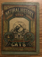 "1879 1st Edition Hardcover Ernest Ingersoll ""CATS"" Natural History Readers"