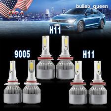 9005 H11 LED Headlight + H11 Fog Lights for 2009-2013 Nissan Maxima Murano Rogue