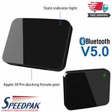 HOT!!! 30 Pin Bluetooth Wireless Music Audio Receiver Adapter For Bose SoundDock