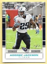 2017 Panini Playoff Touchdown Rookie Parallel #251 Adoree' Jackson #1/1  1 OF 1