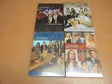 GOSSIP GIRL SEASONS 1-4, DVD, NEW-STILL SEALED