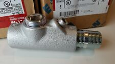 """Crouse-Hinds EYS216 3/4"""" Condulet Seal Male Female Fitting Vertical/Horizontal ,"""