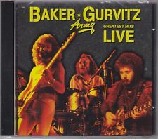 Baker Gurvitz Army Greatest Hits Live CD super rare Ginger Baker Cream Clapton