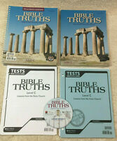 BJU BOB JONES BIBLE TRUTHS Level C 9th Grade 3rd Ed Complete Set Homeschooling 3