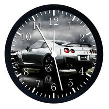 Nissan GTR Black Frame Wall Clock Nice For Decor or Gifts W115