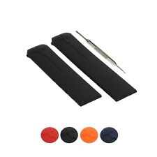 20mm Silicone Rubber Watch Strap Band Fits For Tissot W/ Tool