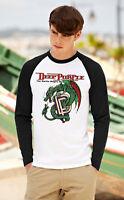 DEEP PURPLE Men Women Long Sleeve T-Shirt Rock Band Unisex Raglan Top Rock Shirt