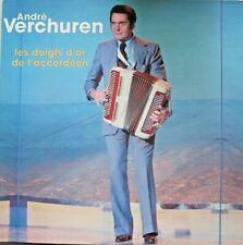 ANDRE VERCHUREN - LES DOIGTS D' OR DE L' ACCORDEON  - LP