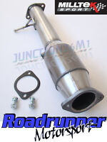 "Focus RS MK2 Milltek 3"" RACE Cat Hi Flow 200 Cell Stainless Sports Cat MSFD182"