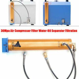 30MPA Hochdruck Pumpen Wasserabscheider Filtration Luftpumpe Tauchen Filter