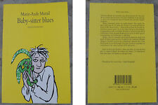 Livre Babby Sitter Blues, l'Ecole des Loisirs, 2006, Marie-Aude Muraille,