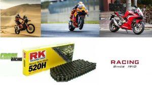CATENA RK 520 H 120 MAGLIE MADE IN JAPAN SUPER MOTARD CROSS TOURING RACING MOTO