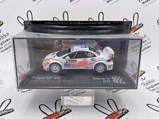 """DIE CAST """" PEUGEOT 307 WRC J.M. COUQ RALLYE DU VAR 2007 """" SCALA 1/43"""