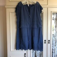 AND/OR John Lewis Blue Dress Plus size 20