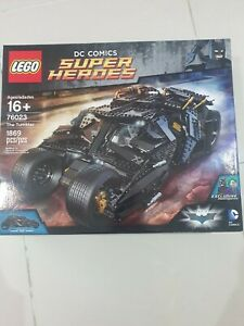 """Lego 76023 DC Super heroes """"The Tumbler"""" Brand-new In Box"""