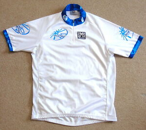 """PERFECT CONDITION UCI PRO TOUR LEADER'S JERSEY. SANTINI XXL 43"""" CIRCUMFERENCE"""
