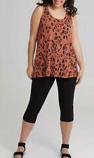NEW TS Taking Shape Bamboo Jamilla Tank Size L Tunic Top Vest